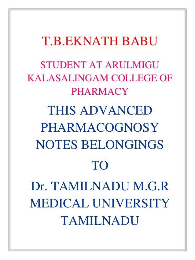 PDF Text book of Pharmacognosy & Phytochemistry