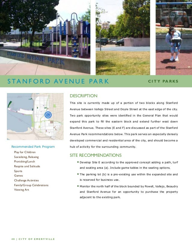 Parks and recreation business plan