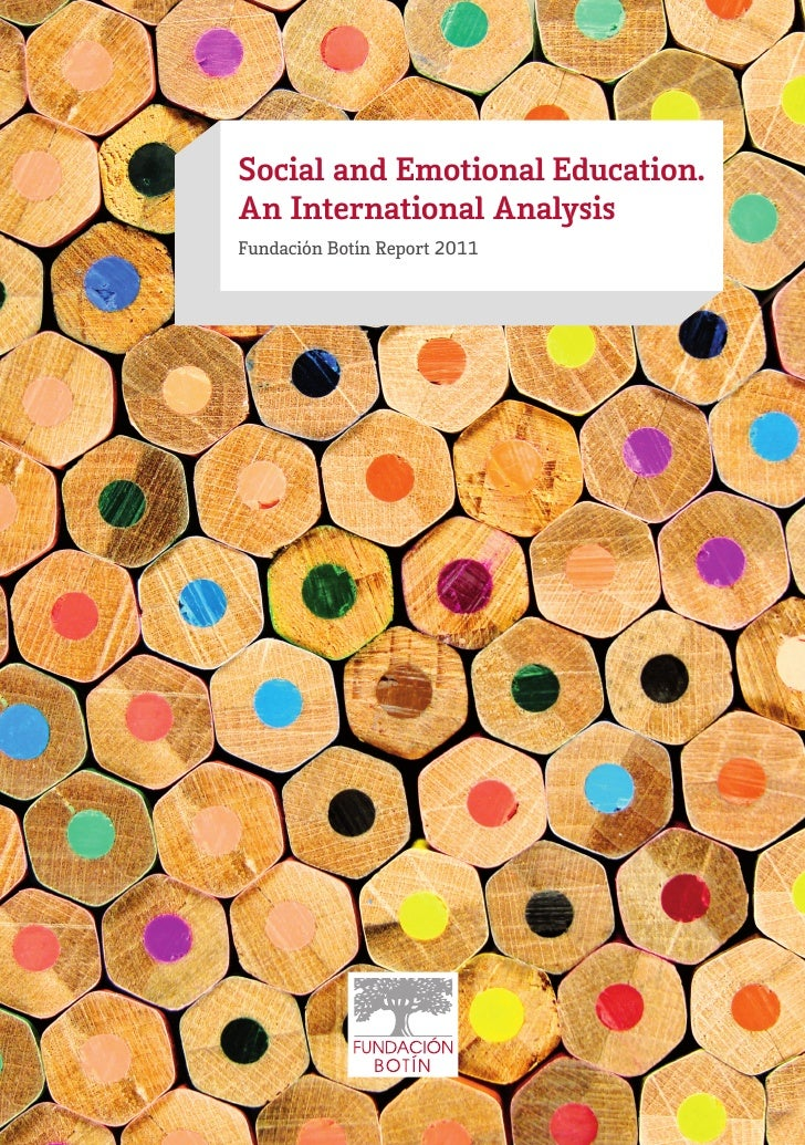 Social and Emotional Education. International Analysis 2011