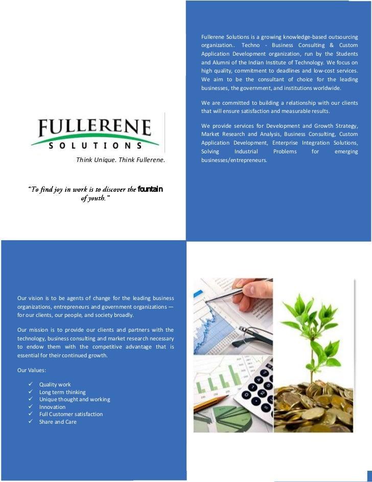 Fullerene solutions