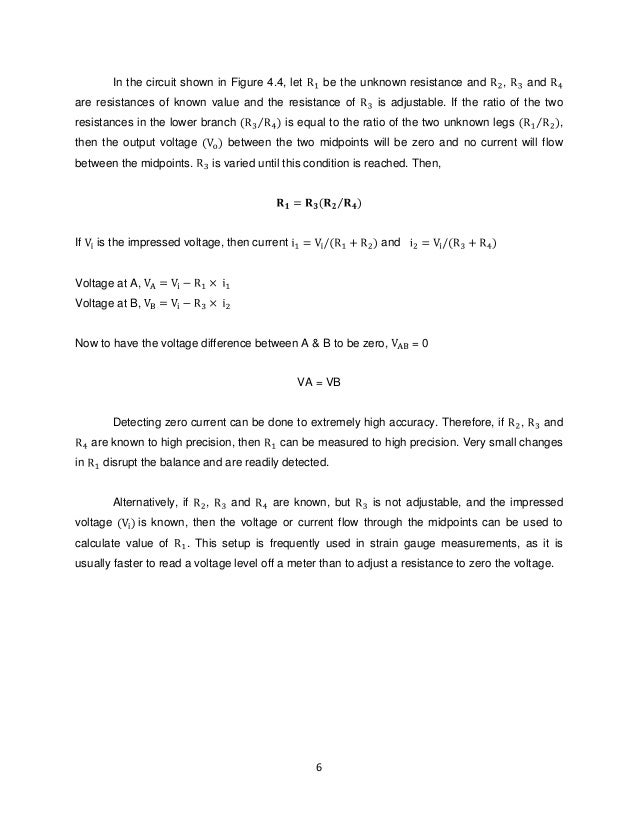 """a wheatstone bridge essay Abstract this term paper is about topic """"wheatstone bridge"""" a wheatstone  bridge is a device which is used to find the unknown."""