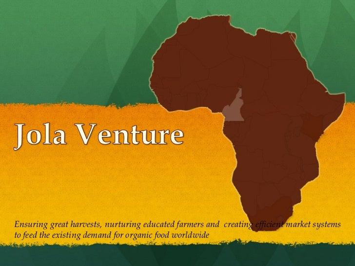 Full jola venture_ppt