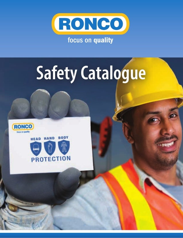 RONCO | Full Line Catalogue - Safety
