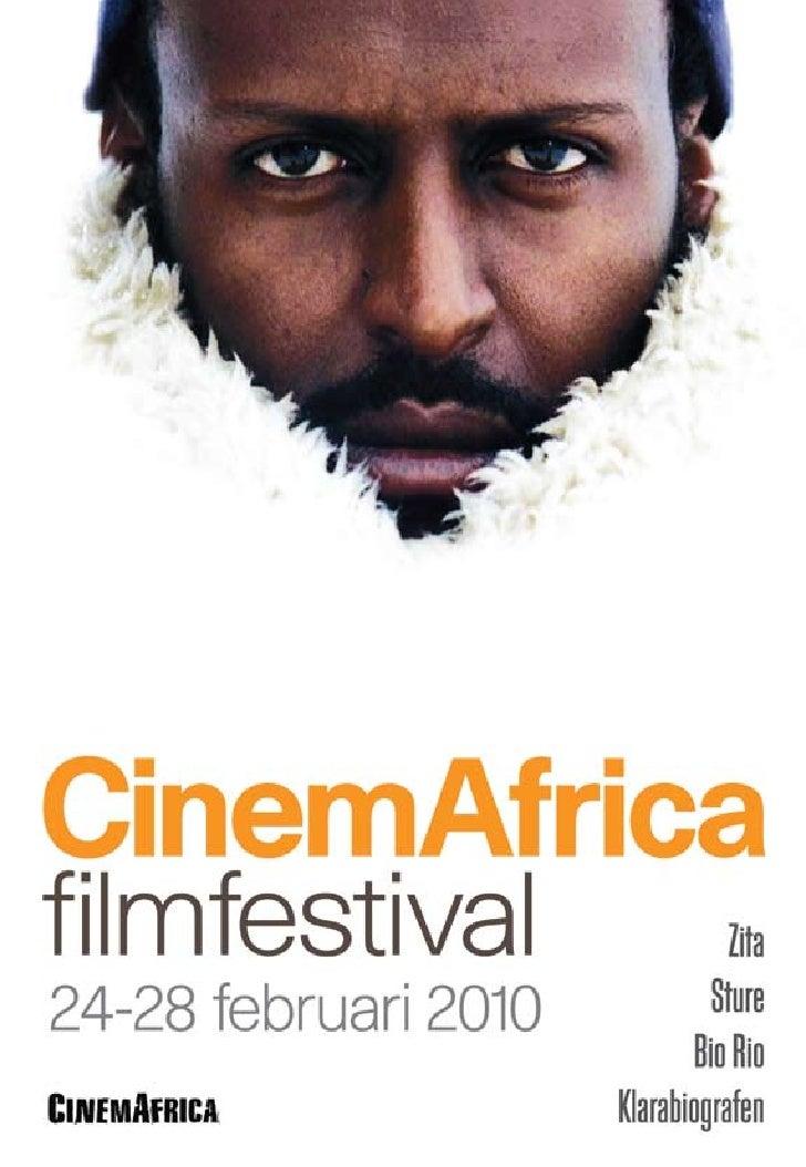 CinemAfrica Filmfestival 2010