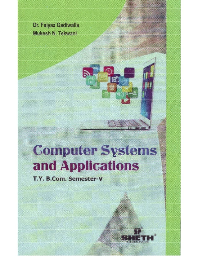 TYBCom Computer Systems and Applications for Semester 5, University of Mumbai