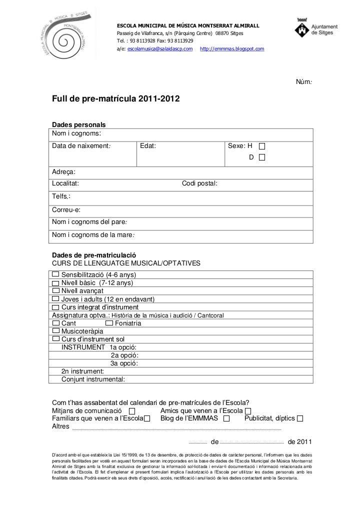 Full prematricula2011 2012