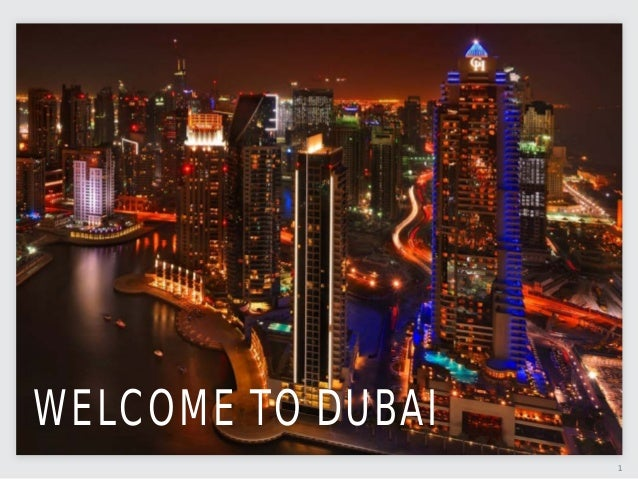 1WELCOME TO DUBAI
