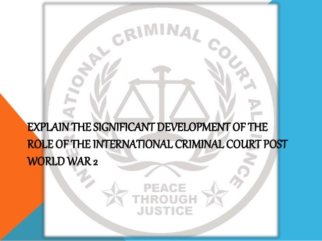 function of criminal court Formulate and implement criminal enforcement policy and provide advice and assistance to all levels of the law enforcement community,.