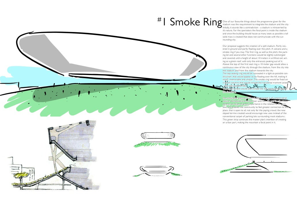 #1 Smoke Ring   One of our favourite things about the programme given for the               stadium was the requirement to...