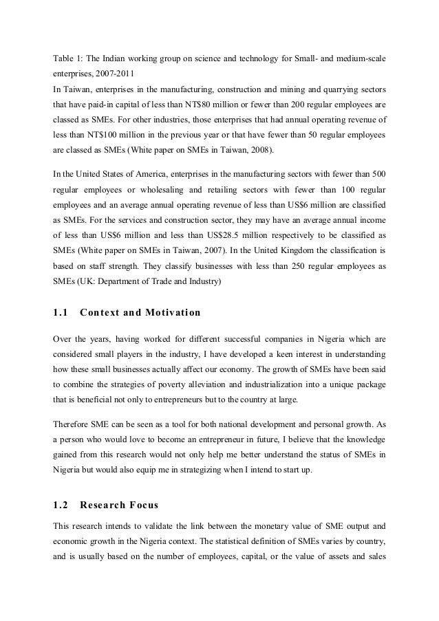 small and medium enterprises in kenya economics essay The economic contributions of forests beyond what is  in the informal sector of small and medium forest enterprises, another 40‐60 million.