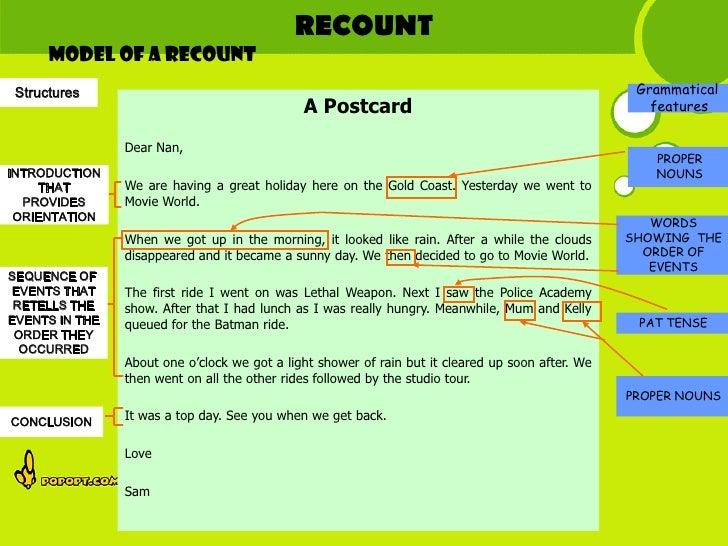model essay recount Contoh dan soal recount text beserta jawabannya – di bawah ini, anda akan mendapatkan sebuah referensi mengenai contoh-contoh soal recount text.