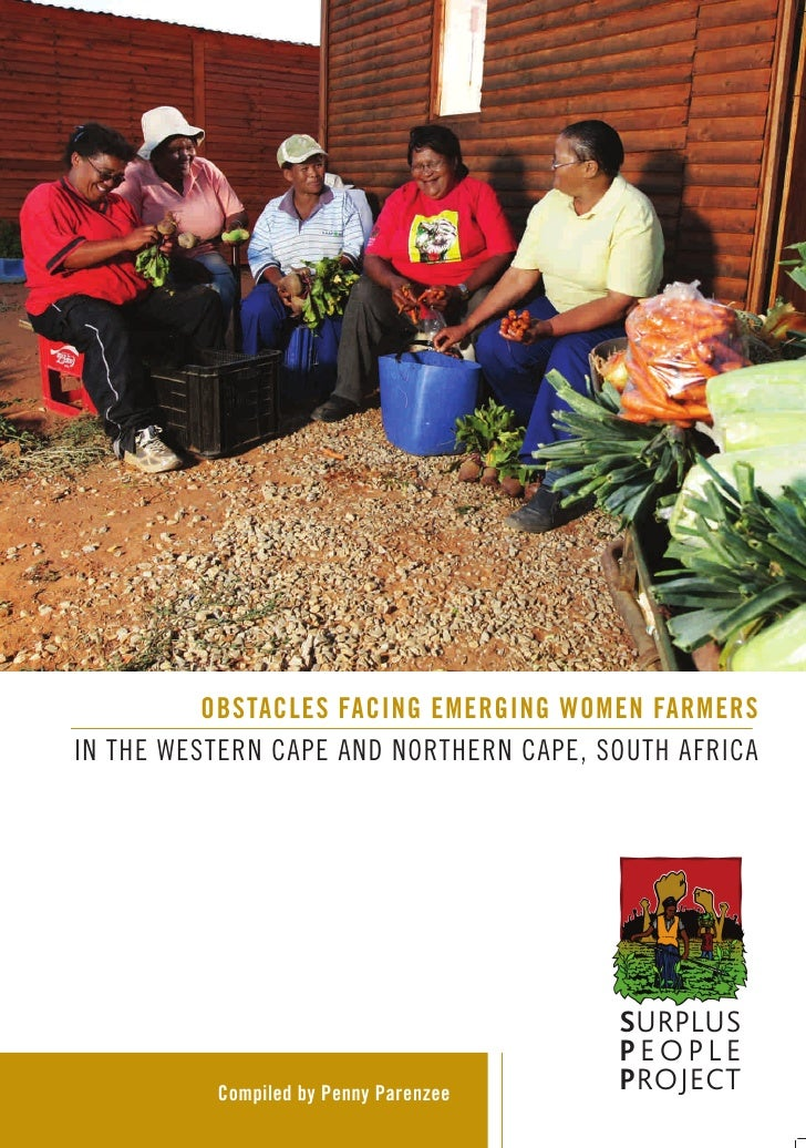 Obstacles Facing Emerging Women Farmers in the Western Cape and Northern Cape, South Africa