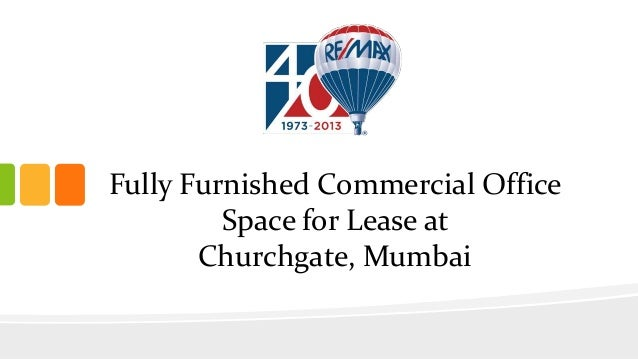 Fully Furnished Commercial Office Space for Lease at Churchgate, Mumbai