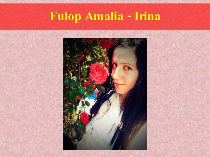 Fulop Amalia - Irina