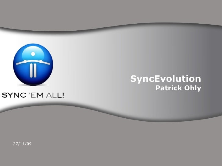 Syncevolution: Open Source and Funambol