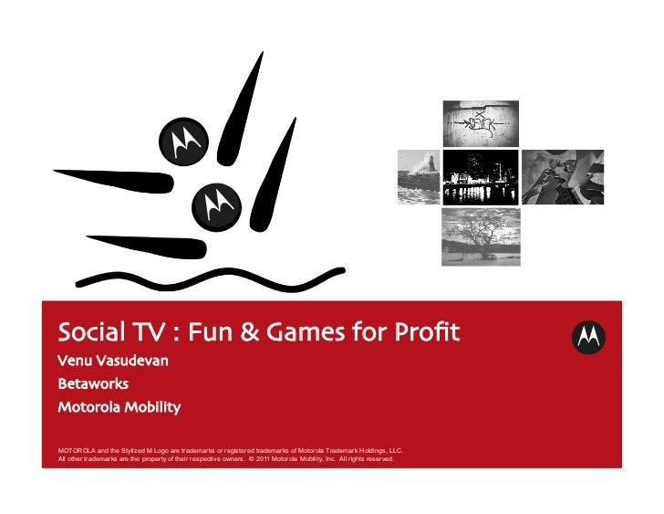 Fun and games for profit