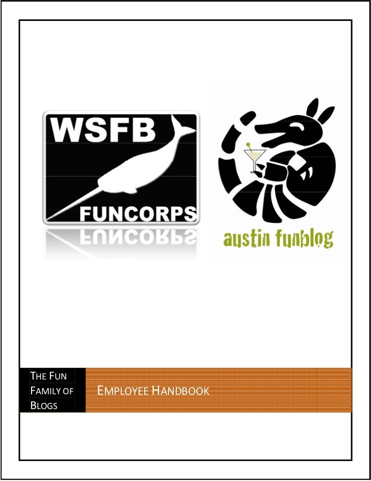 THE FUNFAMILY OF   EMPLOYEE HANDBOOKBLOGS