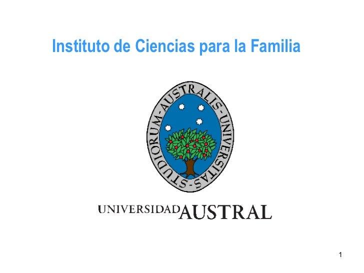 Instituto de Ciencias para la Familia