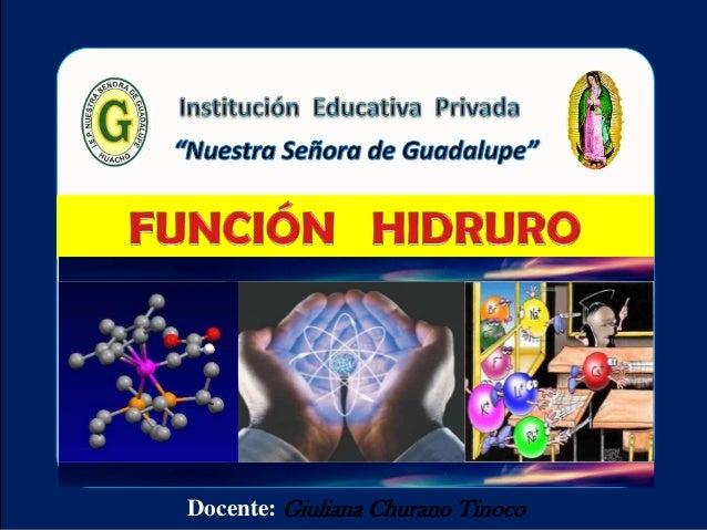 Función  hidruro