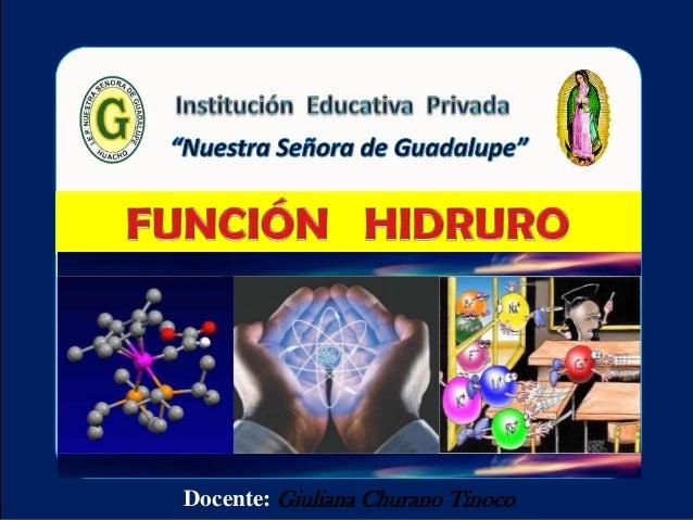 Función  hidruro 3