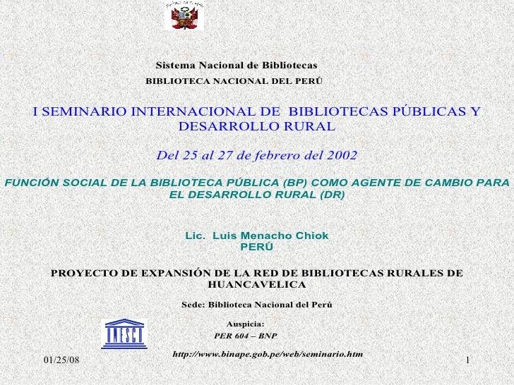 Funcion Social De Las Bibliotecas Publicas