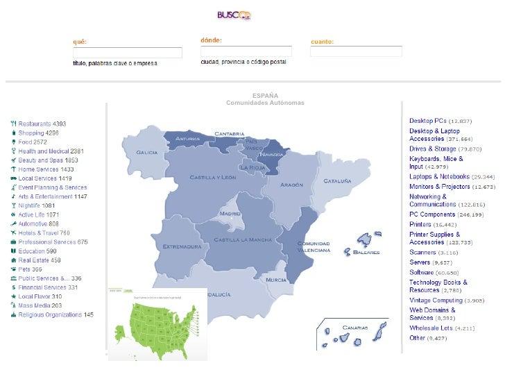 cuanto: ESPAÑA Comunidades Autónomas