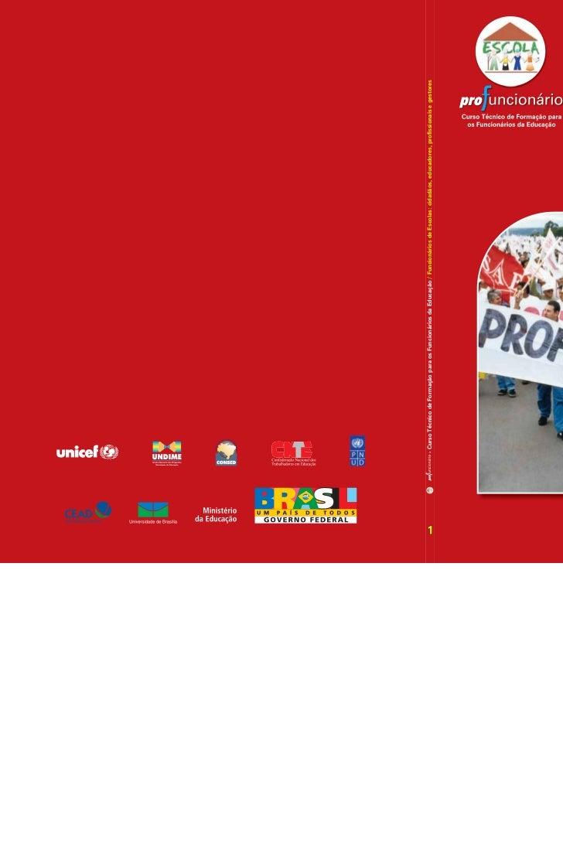 - Curso Técnico de Formação para os Funcionários da Educação / Funcionários de Escolas: cidadãos, educadores, profissionai...