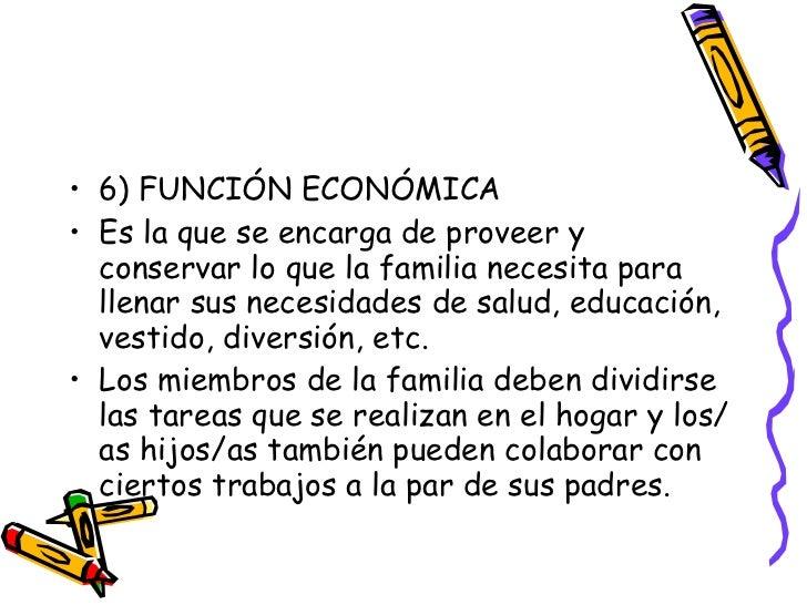 Funciones de la familia for Concepto de la familia para ninos