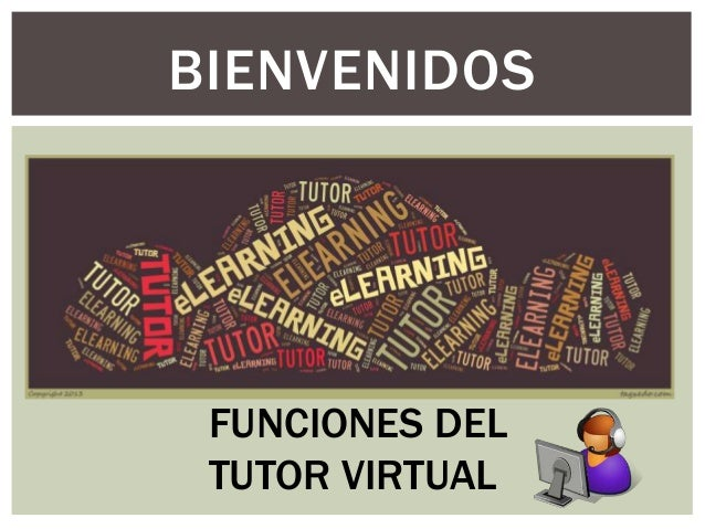 Funciones del  tutor virtual
