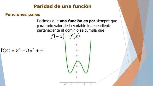 Funciones reales en una variable