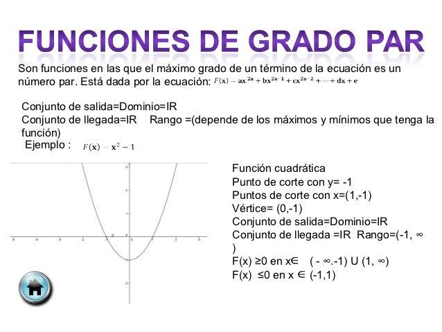 Funcion lineal presentacion for Funcion de salida