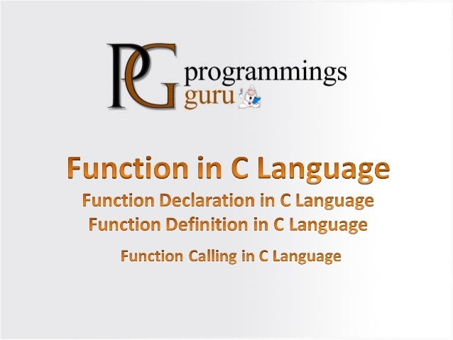 • Function is a set of statement which is designed to perform some specific task. Function gives functionality to programm...