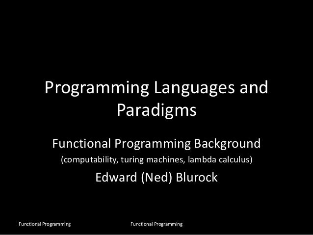 lambda calculus and functional programming pdf