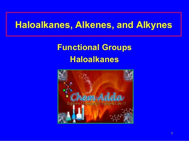 Functional groups and haloalkanes power point presentation