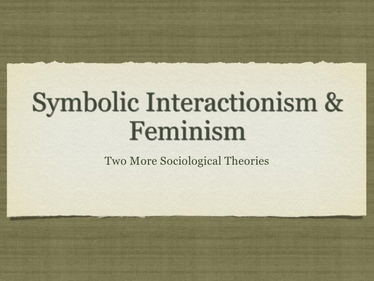 Essay Questions On Symbolic Interactionism
