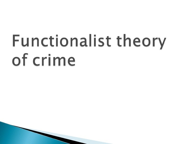 Functionalist Theory