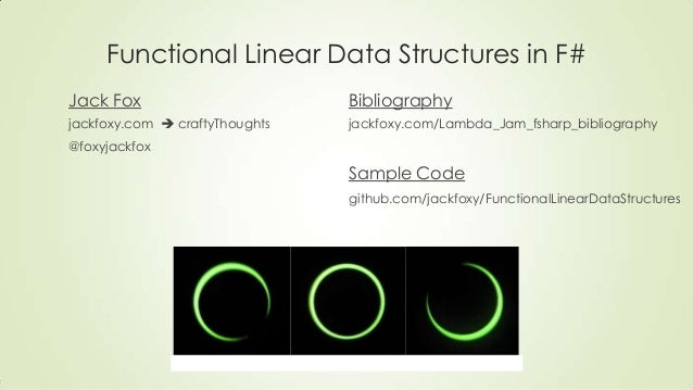 Functional linear data structures in f#