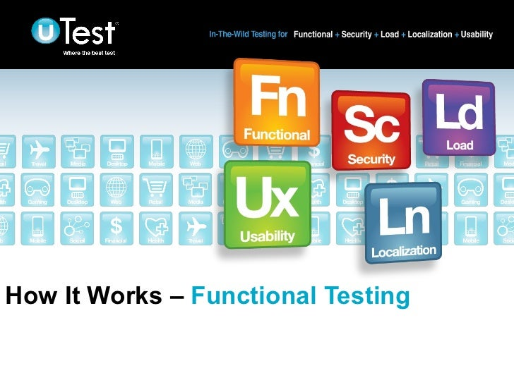 How It Works - Functional Testing