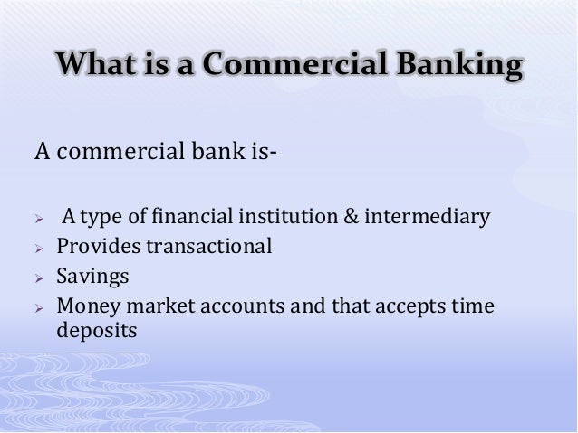 7 Main Functions of a Commercial Bank