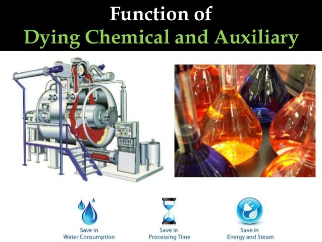 Function of Dying Chemical and Auxiliary