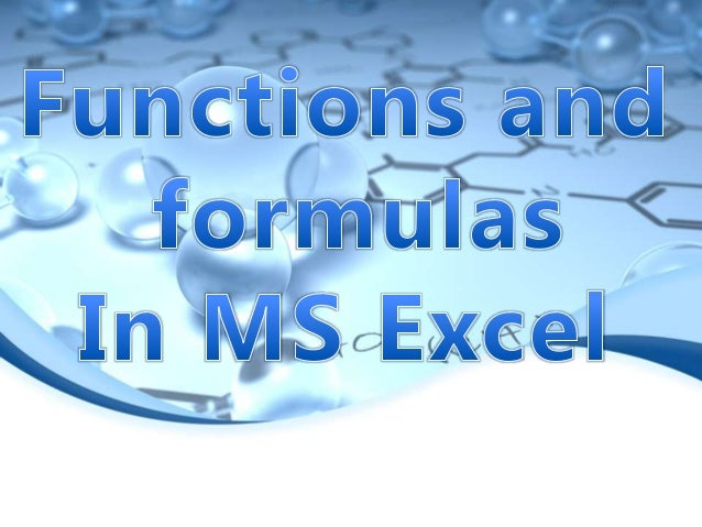 Formulas in Microsoft Excel begin with an equal sign. The equal sign tells Excel that the succeeding characters constitute...