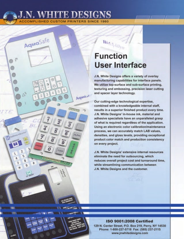 Function user interface