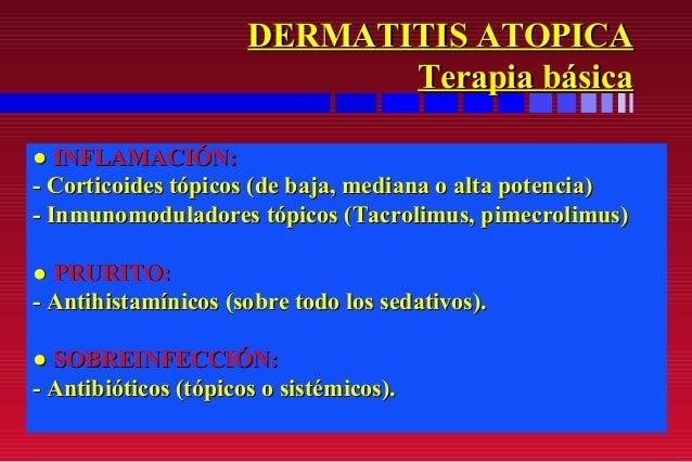 Los primeros indicios atopicheskogo de la dermatitis surgen