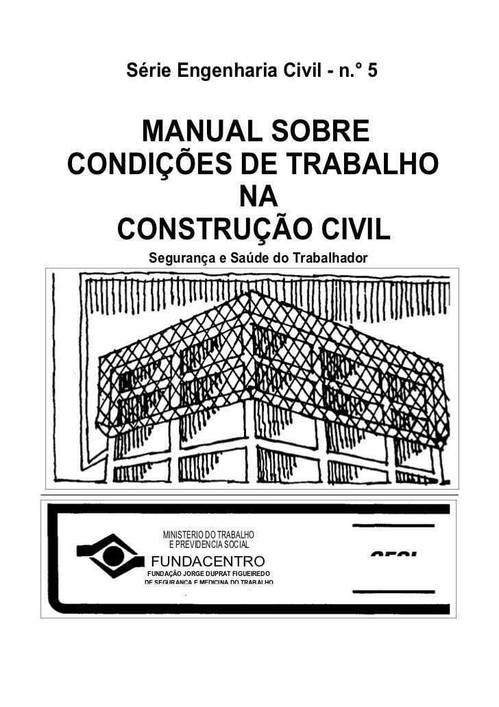 Fundacentro contrução civil