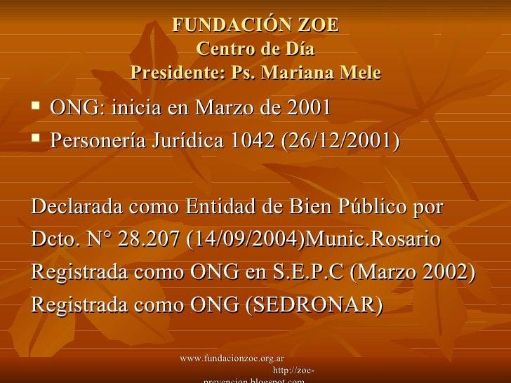 Fundacion Zoe