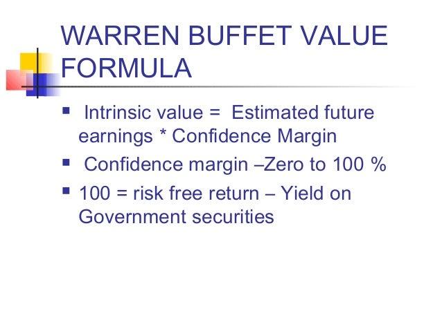 Intrinsic value method stock options