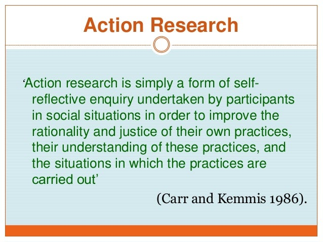 od action research step wise example Action research modelthe action research model focuses onplanned change as a cyclical process inwhich initial research about the organizationprovides information to guide subsequentaction then the results of the action areassessed to provide further information toguide further action, and so on.