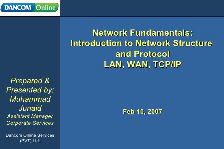 Fundamentals of Networking
