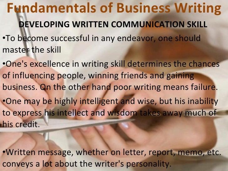 Fundamental of writing communication session 7 8