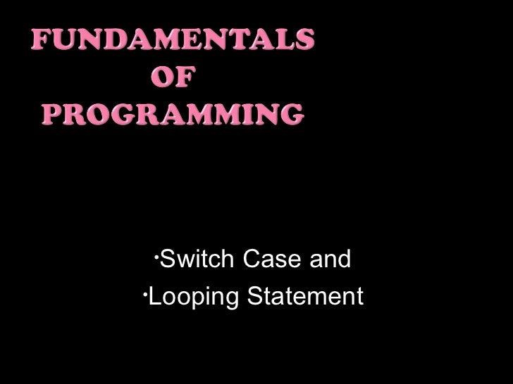 Fundamentals of programming finals.ajang